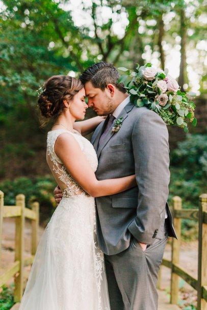 Lavender Bouquet, Cascade Bouquet, Historic Londontown Weddings, Baltimore Wedding Florist, Violet Floral Designs, Maryland Wedding Flowers, Eucalyptus