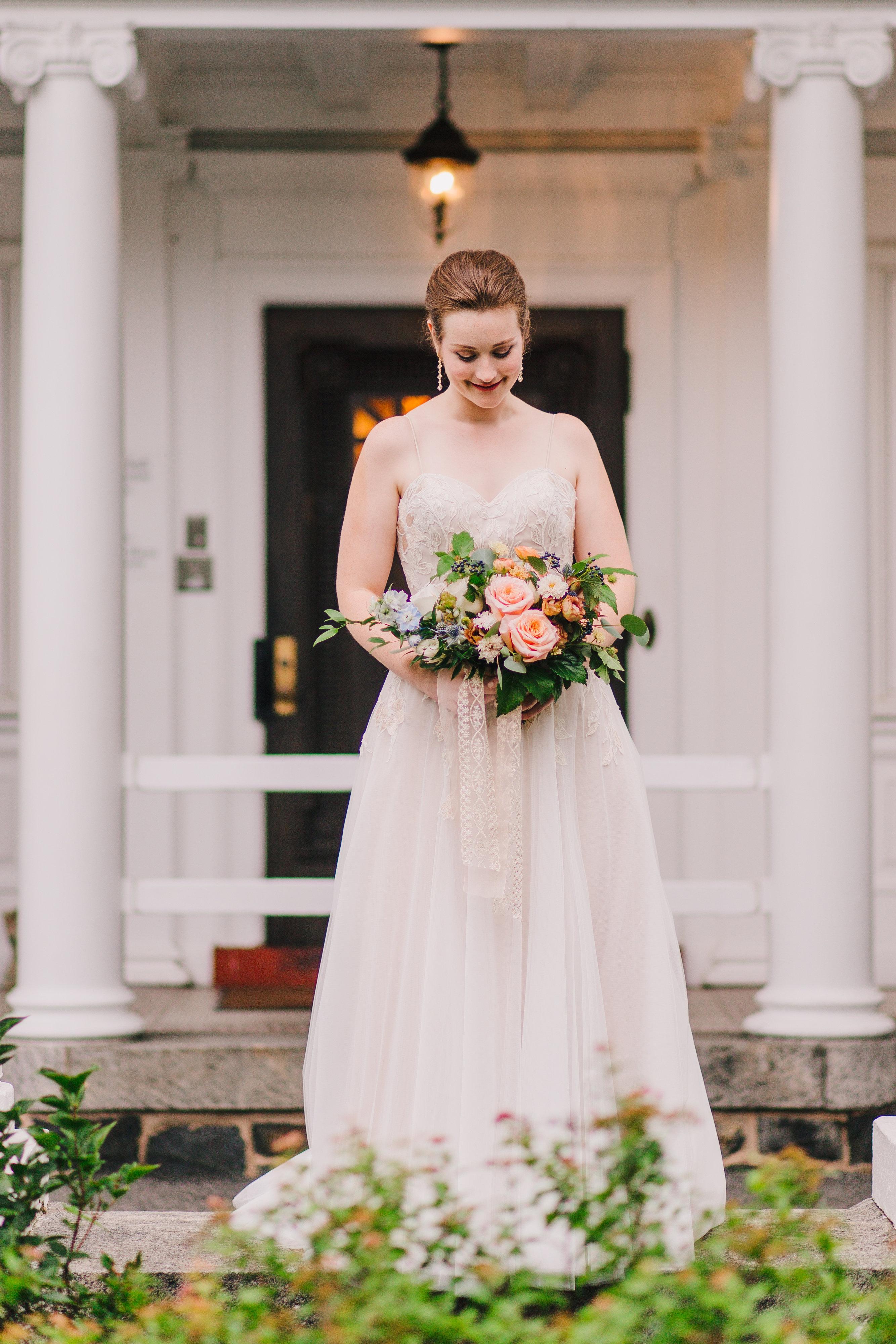 bridal bouquetviolet floral designs baltimore